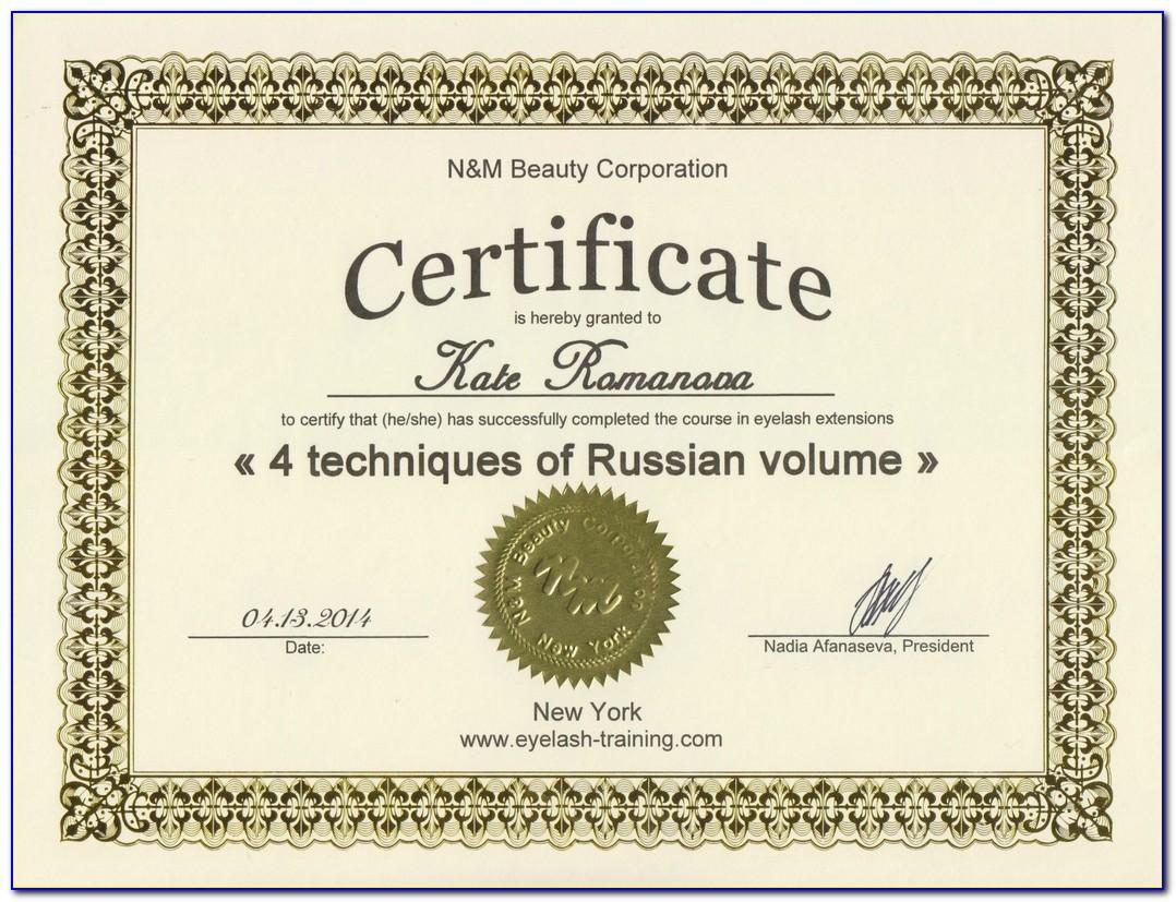 Eyelash Extensions Certification Training Ct