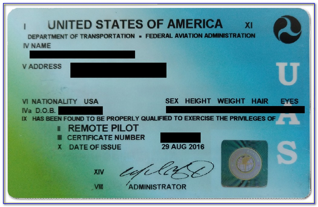 Faa Remote Pilot Certificate Lookup