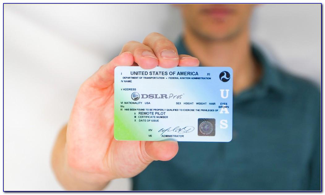 Faa Remote Pilot Certificate Test
