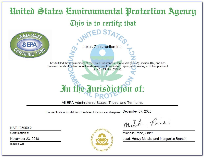 Fbi Clearance Certificate