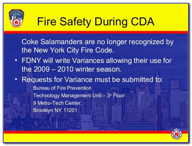 Fdny Certificate Of Fitness Fire Extinguishers