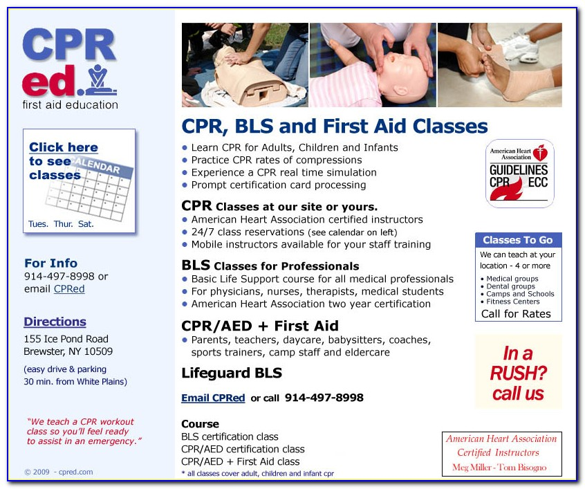 First Aid Cpr Aed Certification American Heart Association Online
