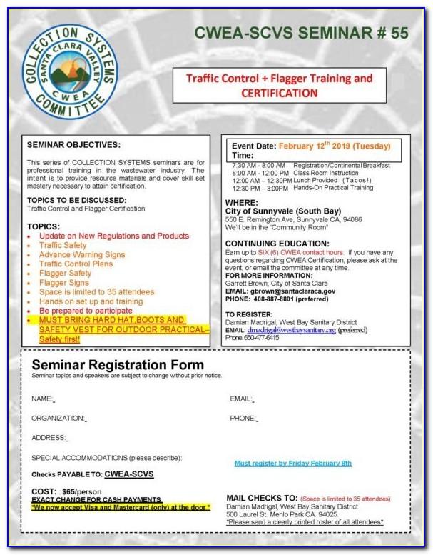 Flagger Certification Classes Colorado