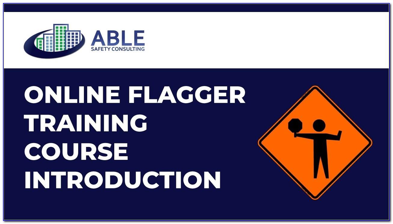 Flagger Certification Classes In Tacoma Wa