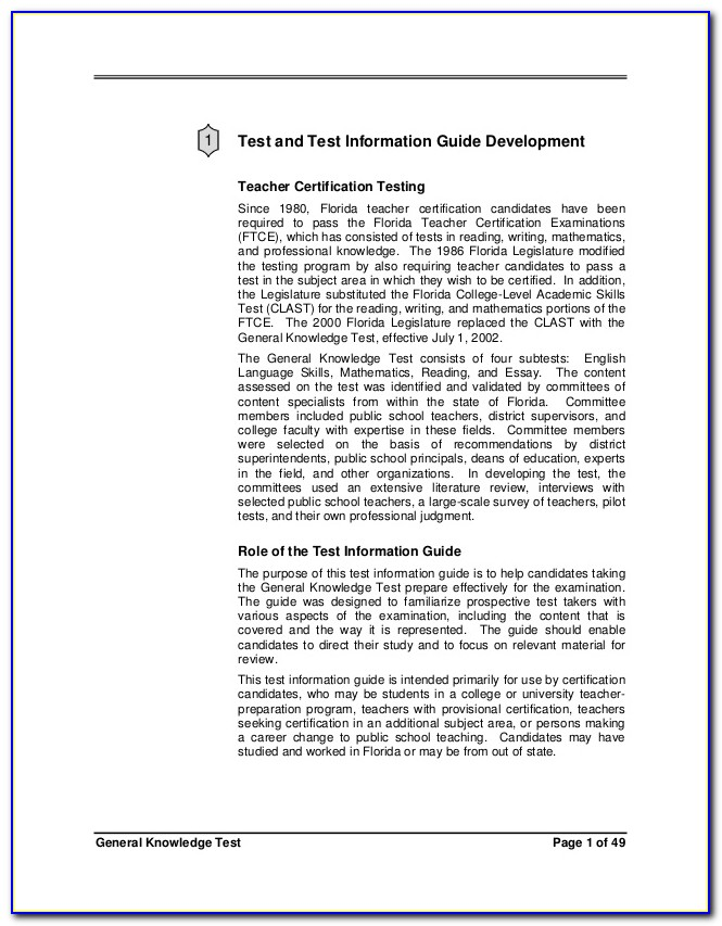 Fldoe Teacher Certification Areas
