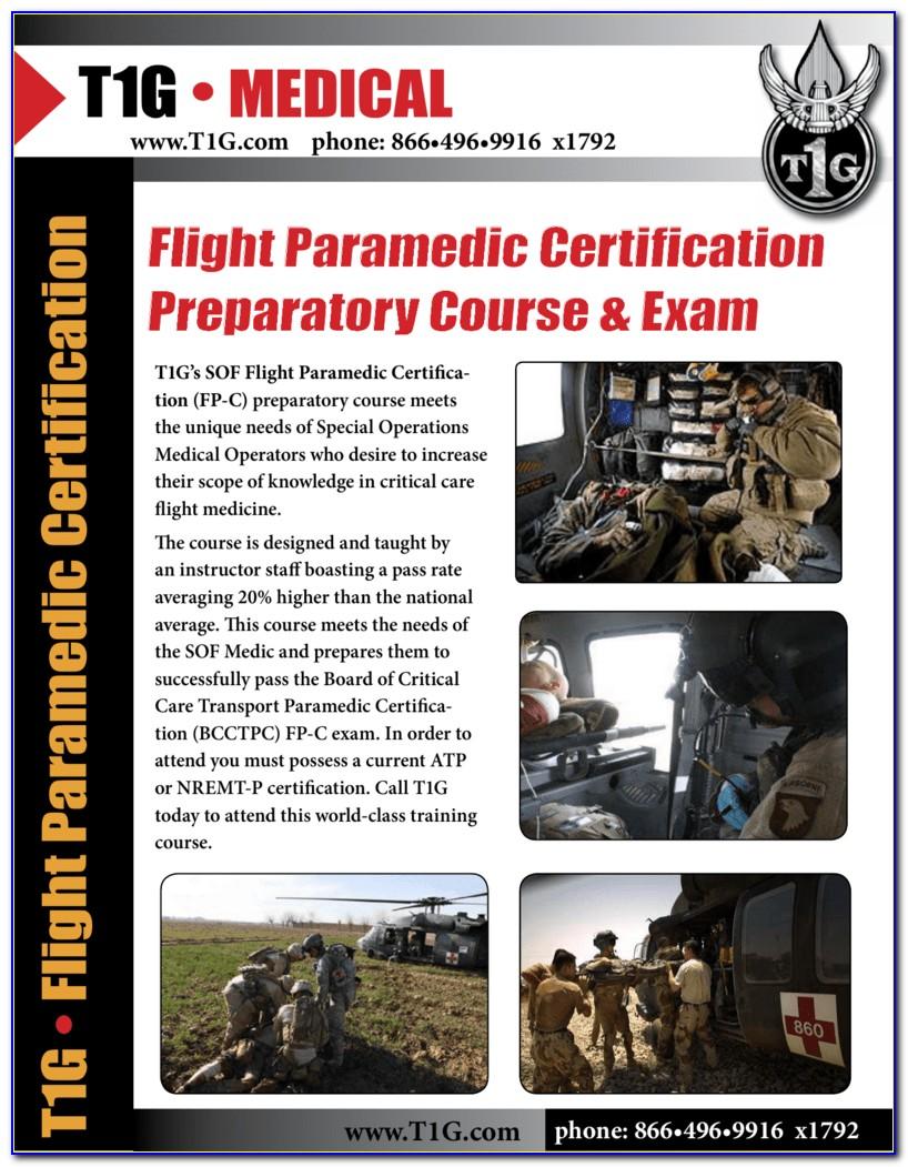 Flight Paramedic Certification A Comprehensive Study Guide Pdf