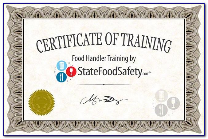 Food Handlers Certification Jacksonville Florida