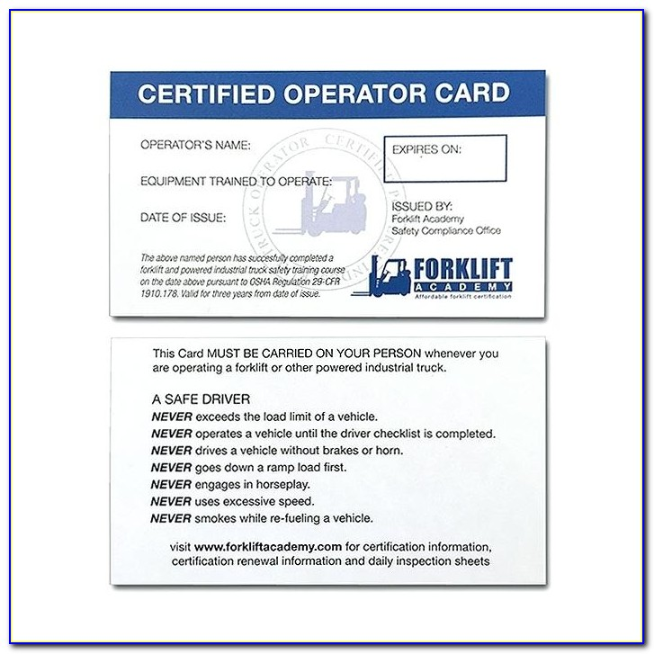 Forklift Certification Classes Houston Tx
