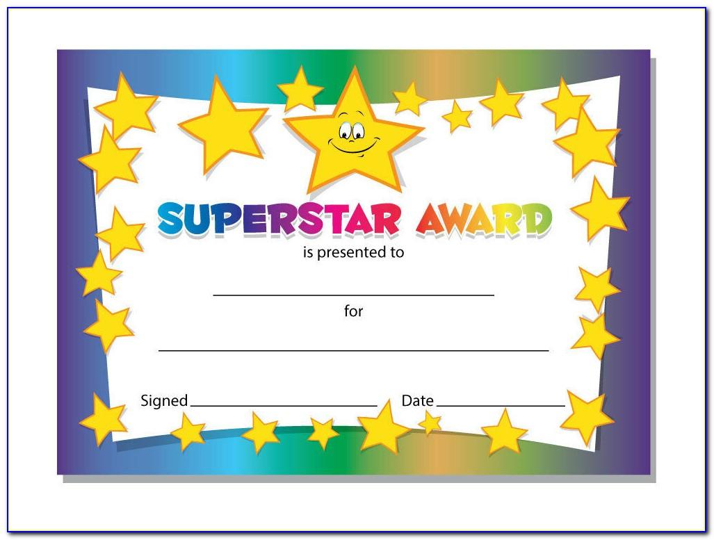 Free Printable Certificate Templates Awards