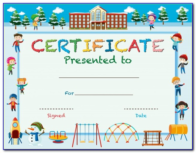 Free Printable Certificate Templates Online