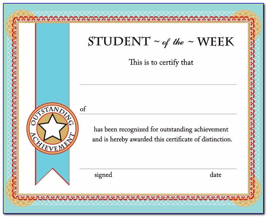 Free Printable Certificate Templates Uk