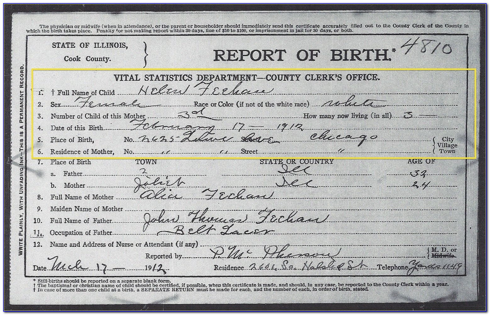 Fresno County Birth Certificate Questions