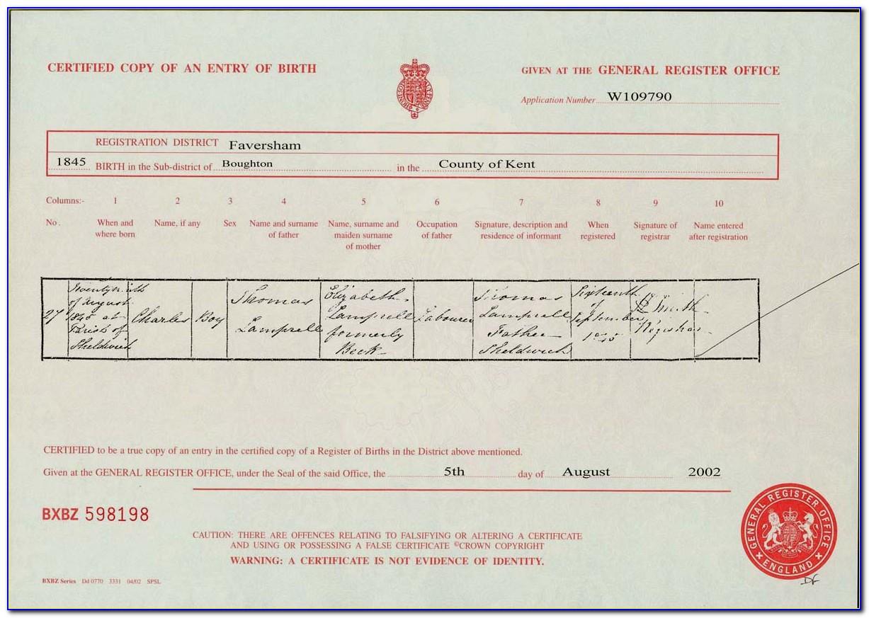 Fulton County Ga Birth Certificate