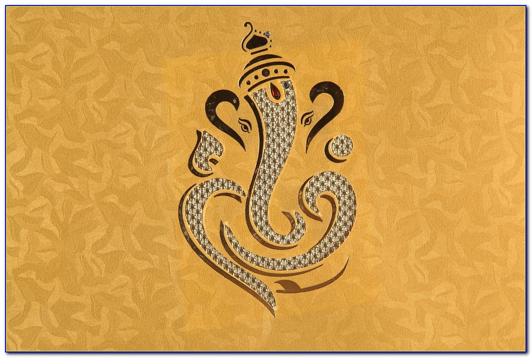 Ganesha Image For Wedding Card