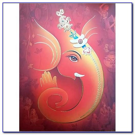 Ganesha Pics For Wedding Card