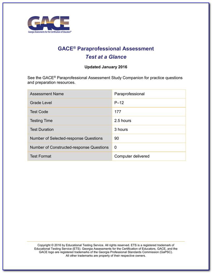 Georgia Paraprofessional Certificate Renewal
