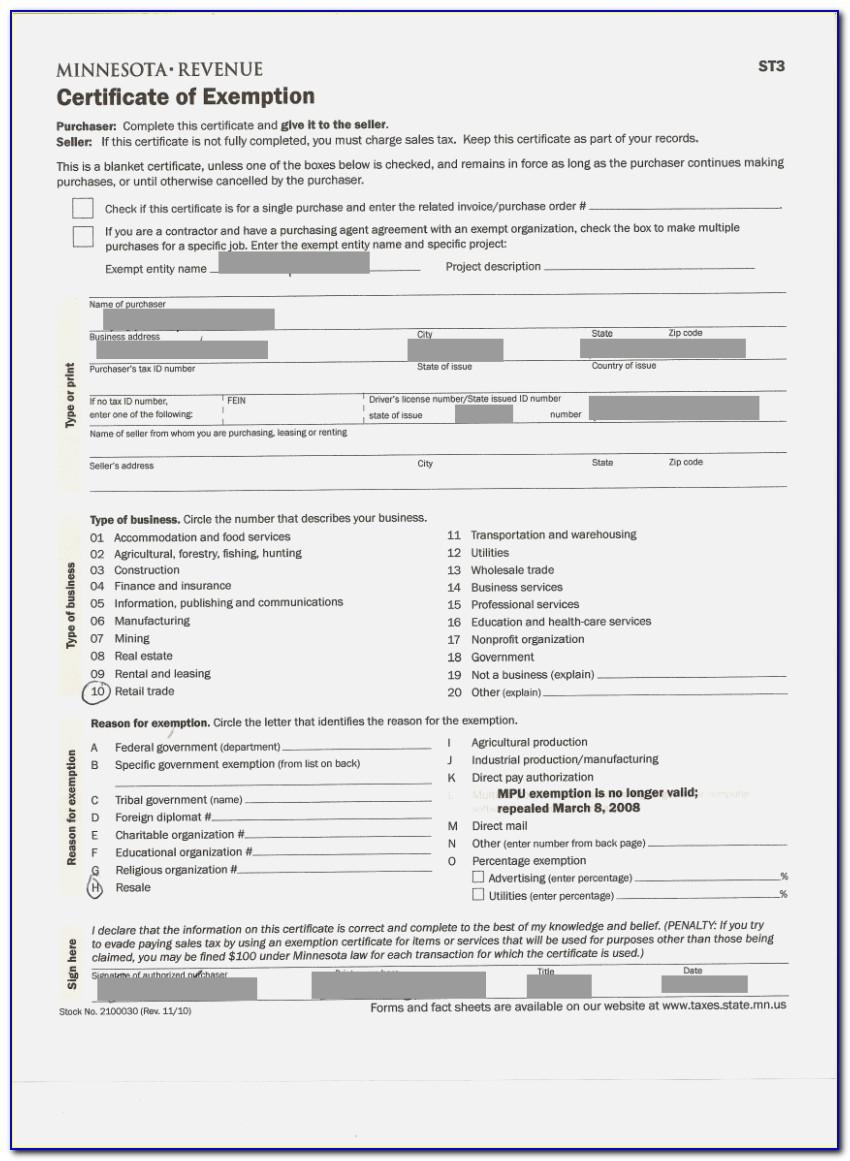 Georgia Resale Certificate Online