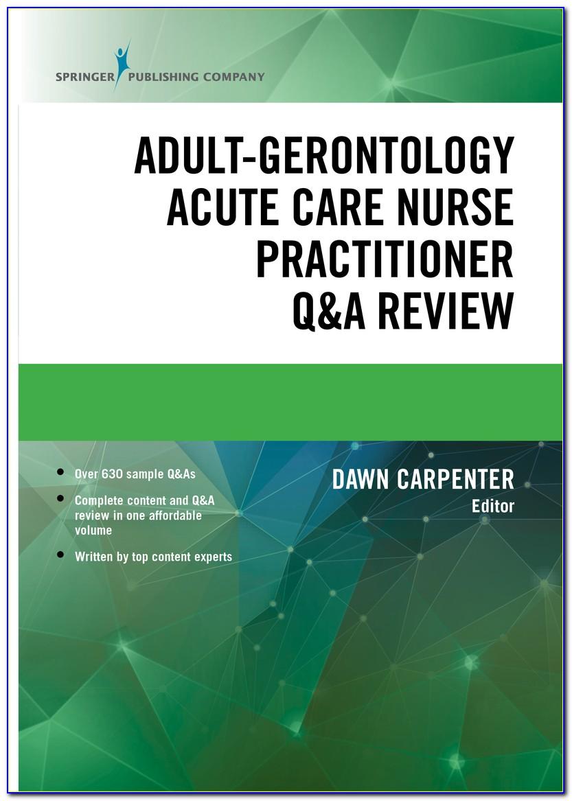 Gerontological Nursing Certification Exam