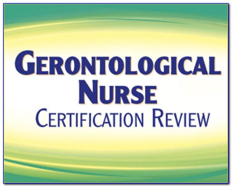 Gerontological Nursing Certification Study Guide