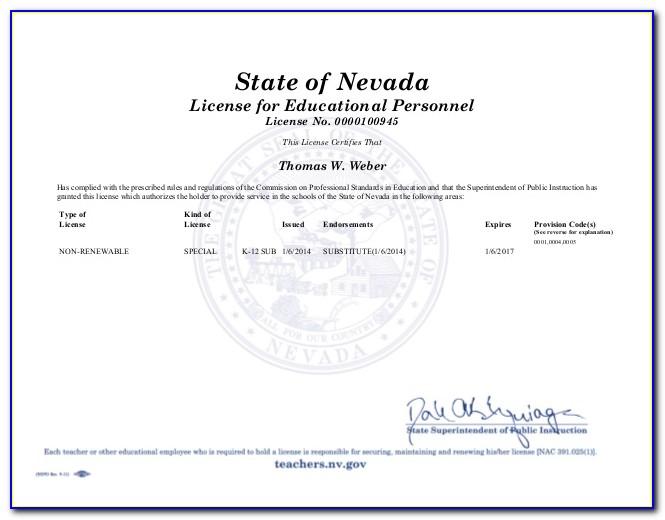 Get Substitute Teaching Certificate Nj