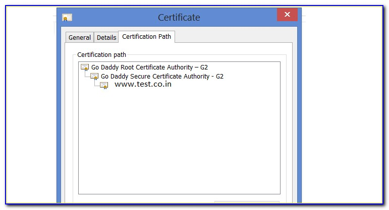 Godaddy Root Certificate Download
