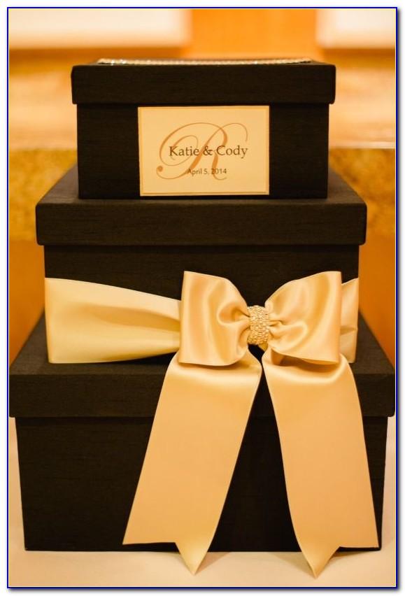 Gold Card Holder Wedding