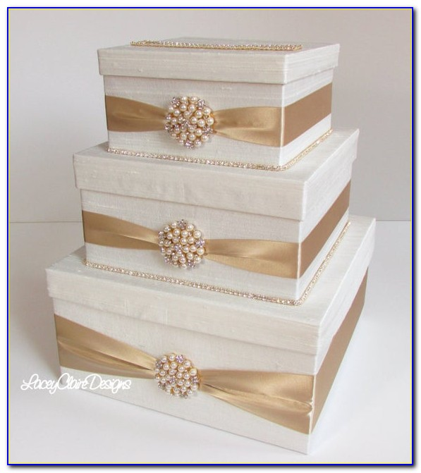 Gold Wedding Place Card Holders