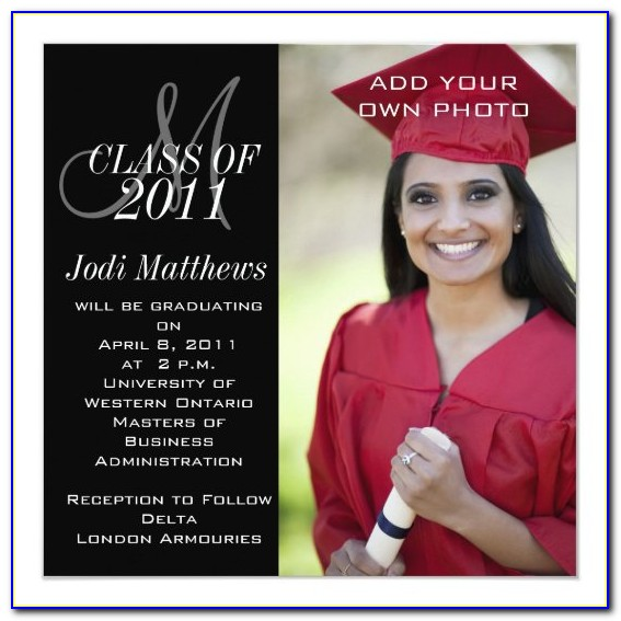 Graduation Invitation Card Ideas