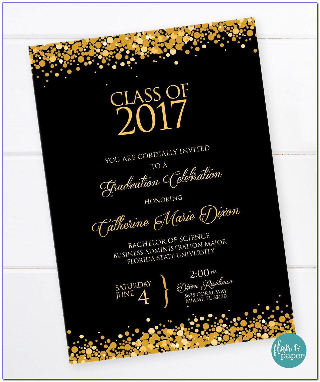 Graduation Invitation Photo Cards