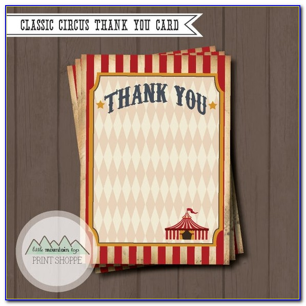 Hallmark Printable Thank You Cards