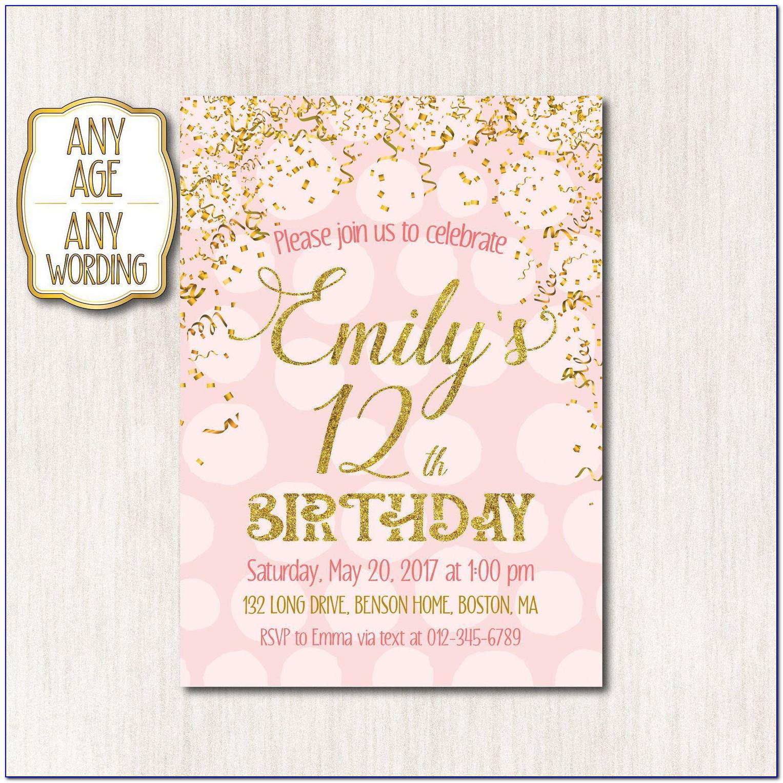 Happy Birthday Invitation Card In Hindi