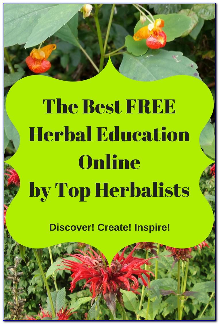 Herbalist Degree Online