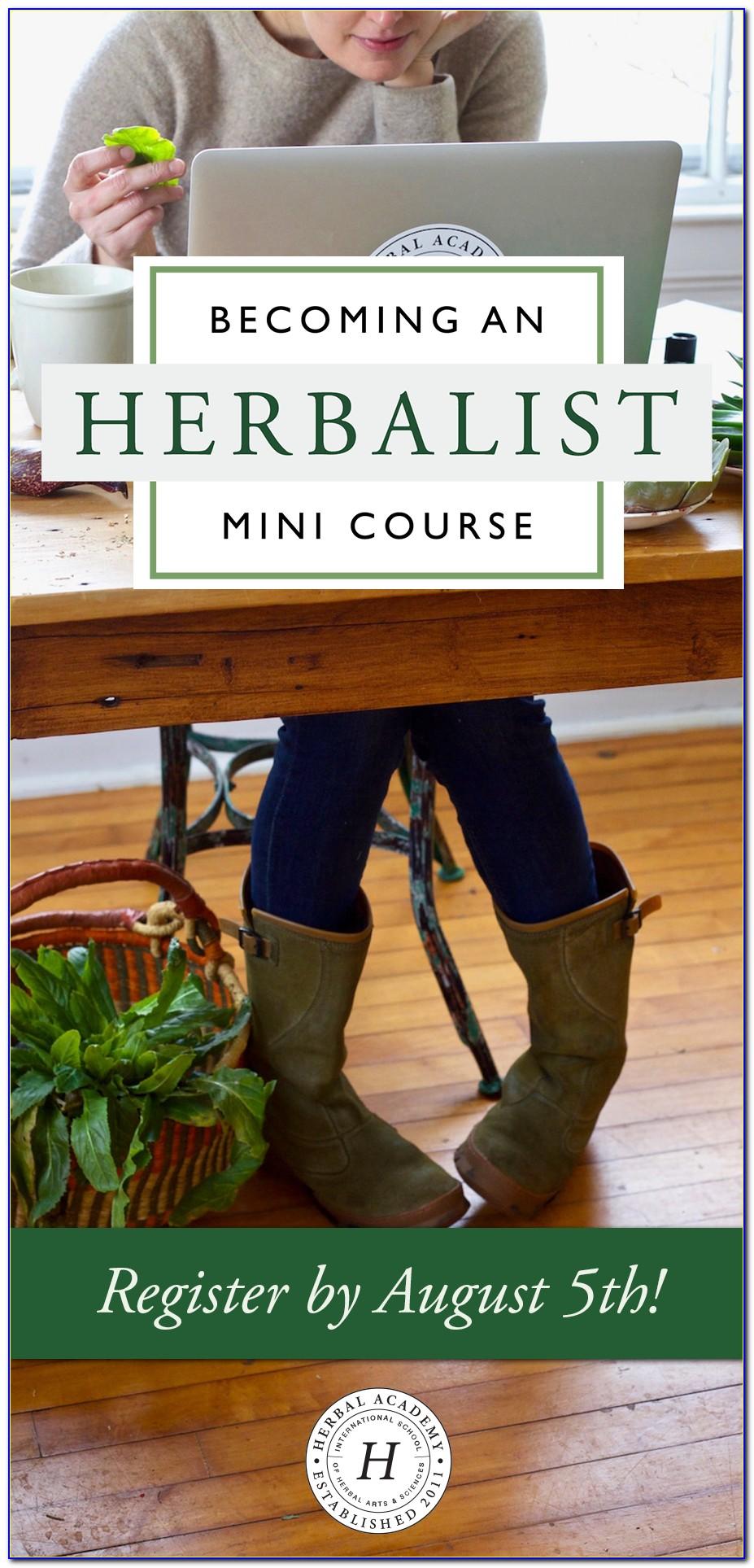 Herbalist Training Online Free