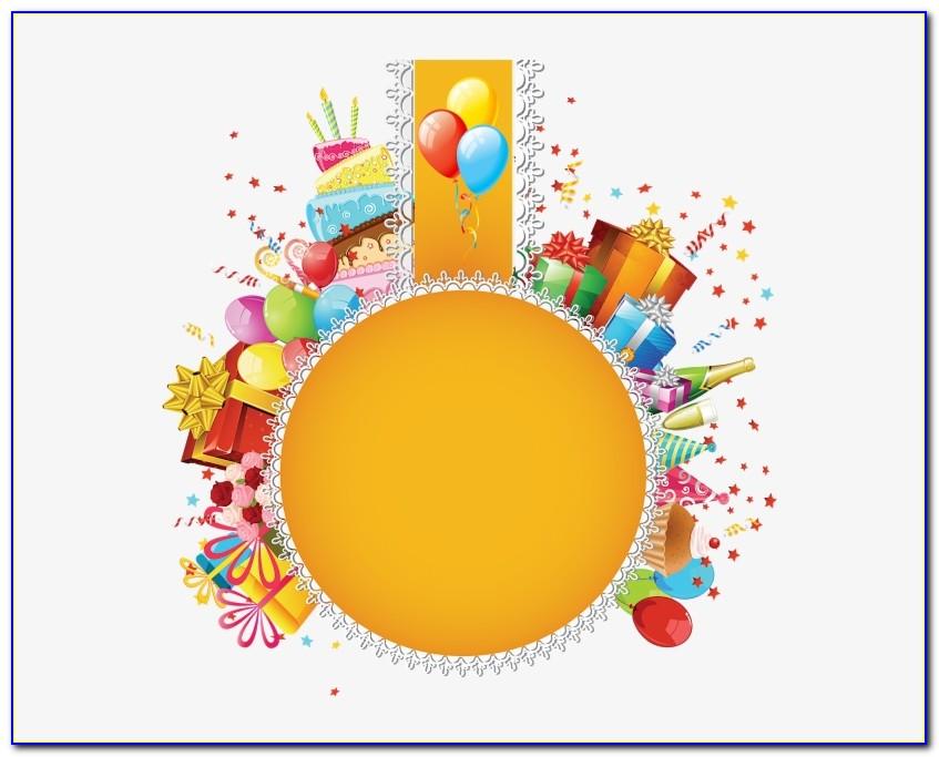 Hot Air Balloon Invitation Card
