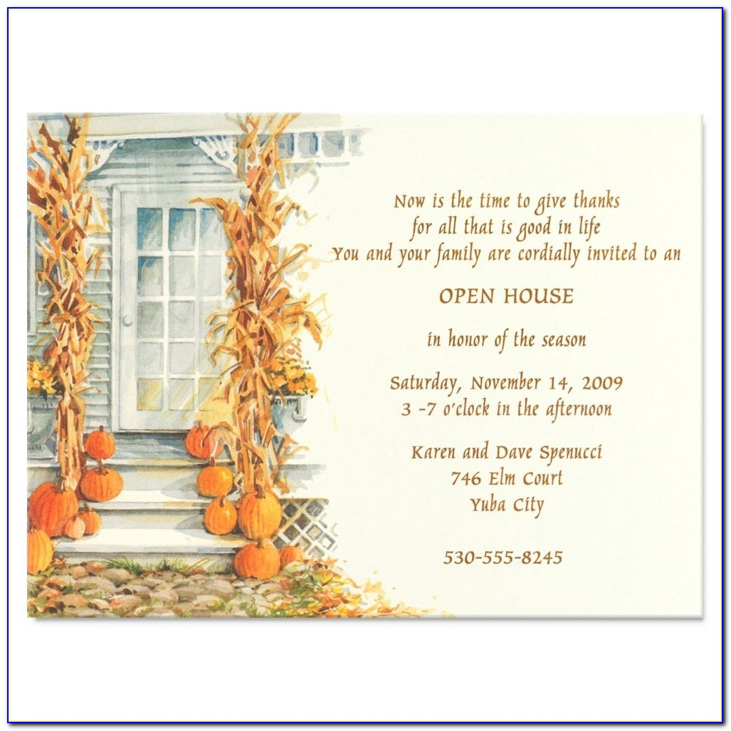 House Warming Invitation Card Sample