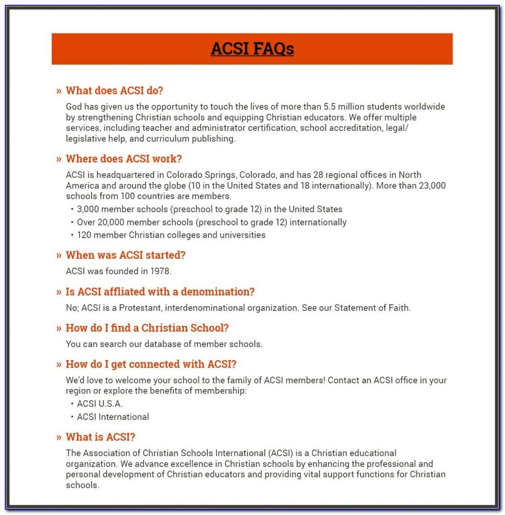How To Get Acsi Teacher Certification