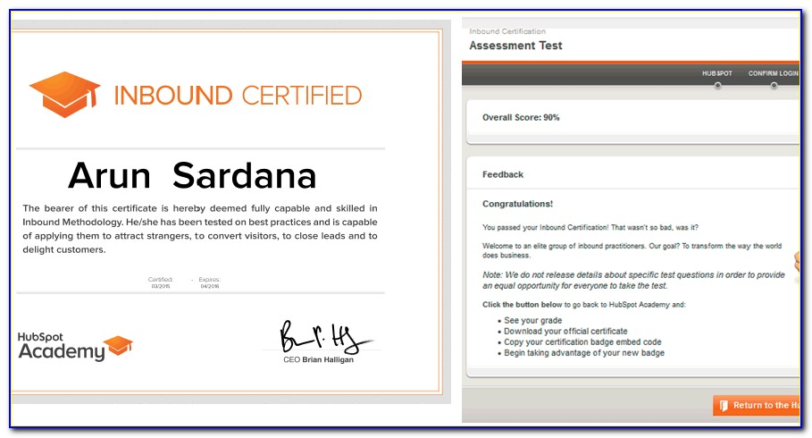 Hubspot Inbound Certification Quizlet