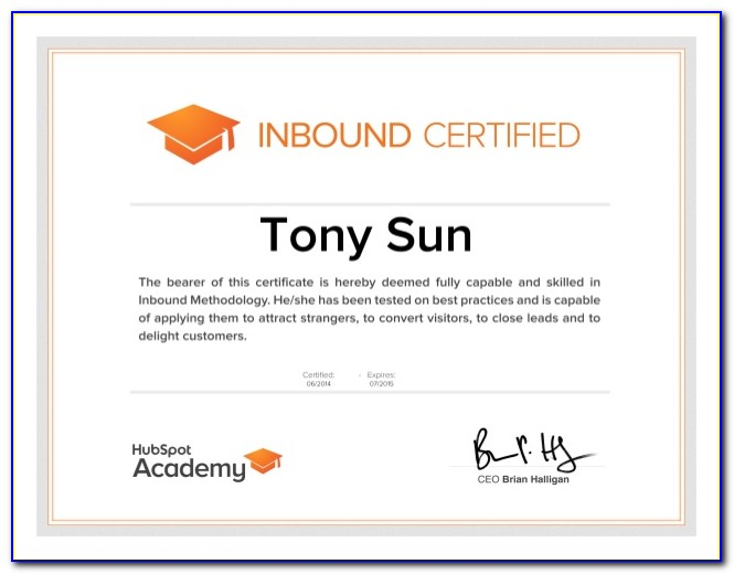 Hubspot Inbound Marketing Certification Answers 2019
