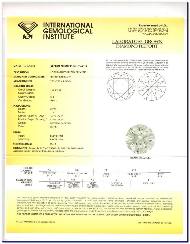 Igi Diamond Certification Dubai
