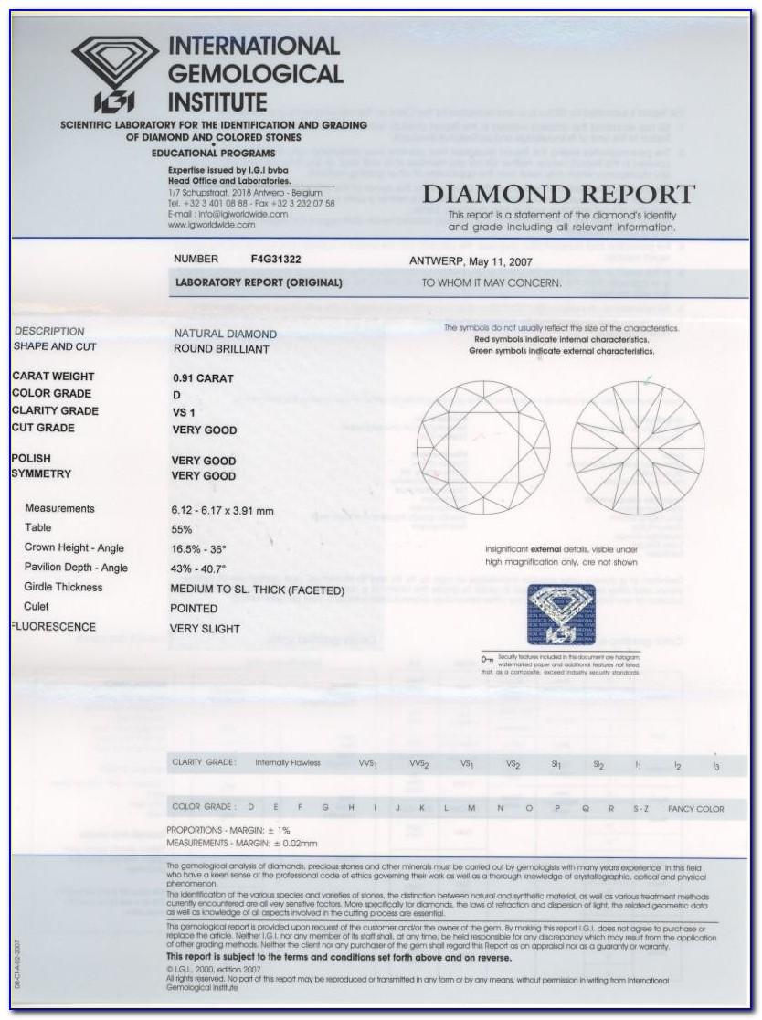 Igi Diamond Certification Reviews