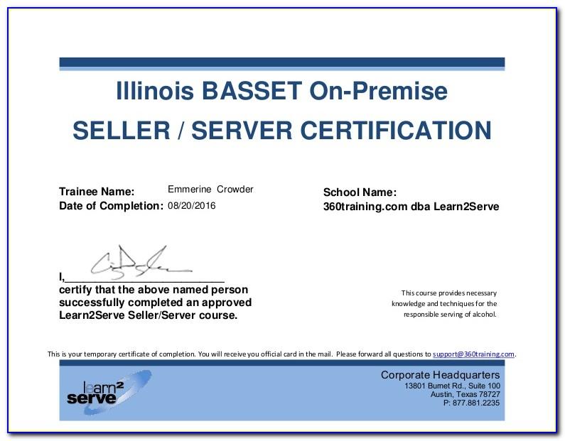 Illinois Basset Certification Lookup