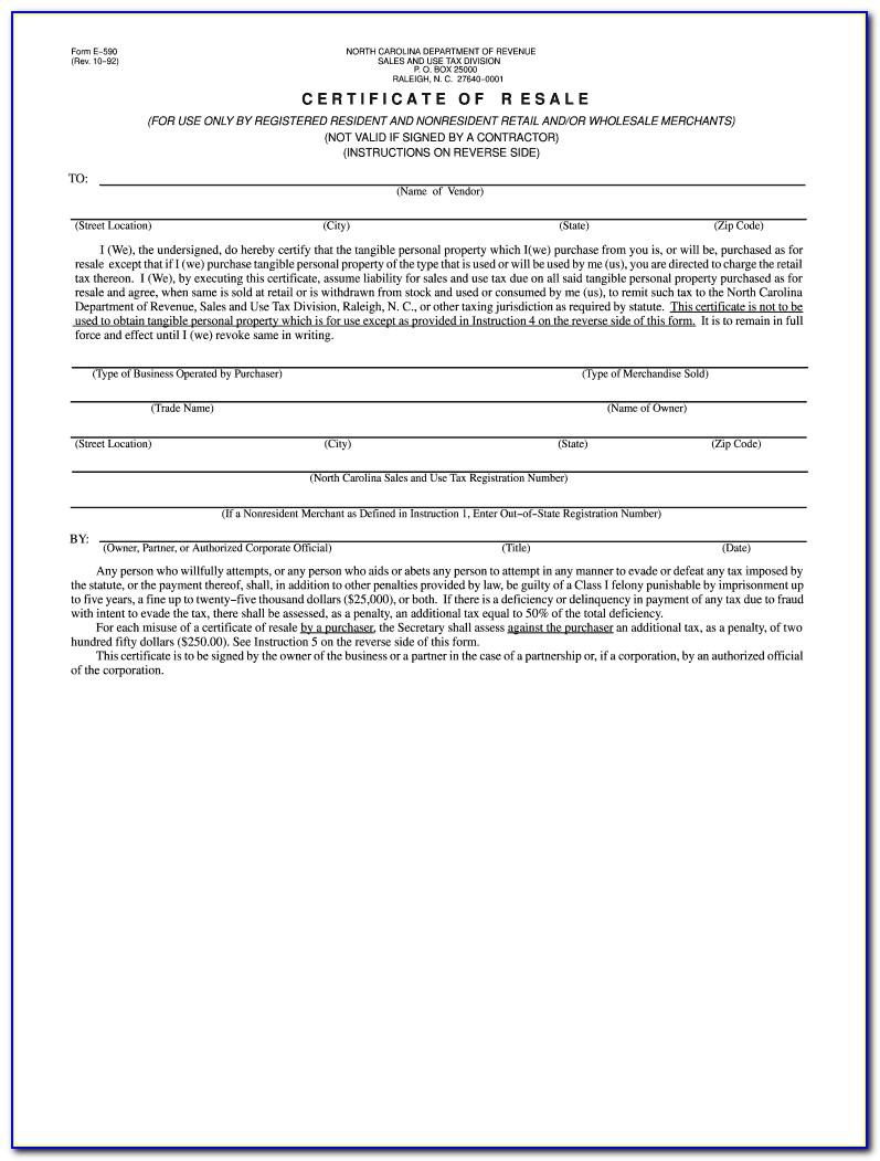 Illinois Resale Certificate Renewal
