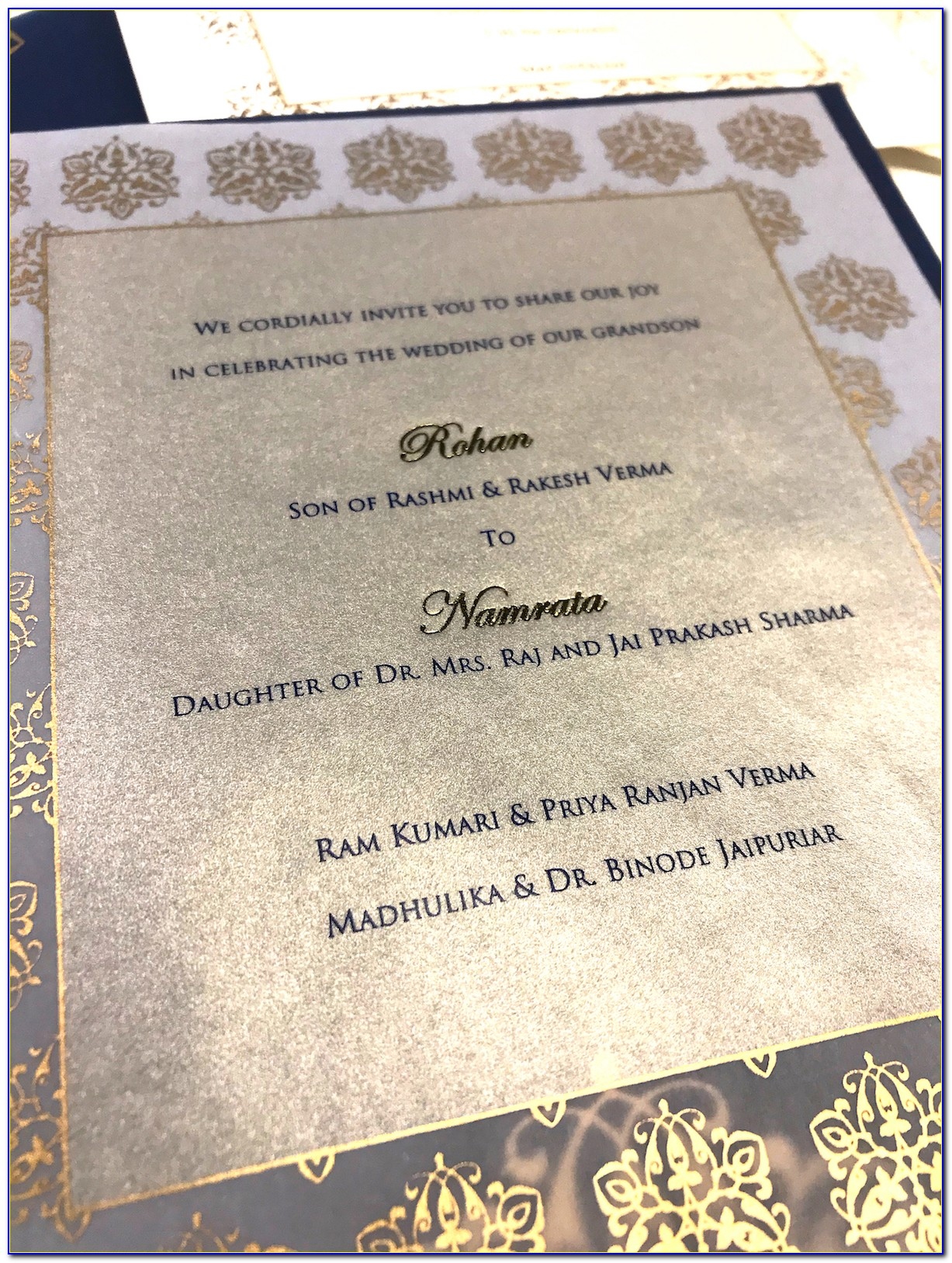 Indian Christian Wedding Card Wordings In English