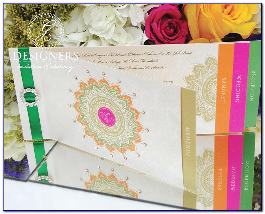 Indian Wedding Invitation Cards Brampton