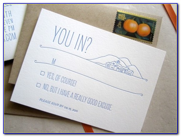 Inexpensive Wedding Invitations And Rsvp Cards