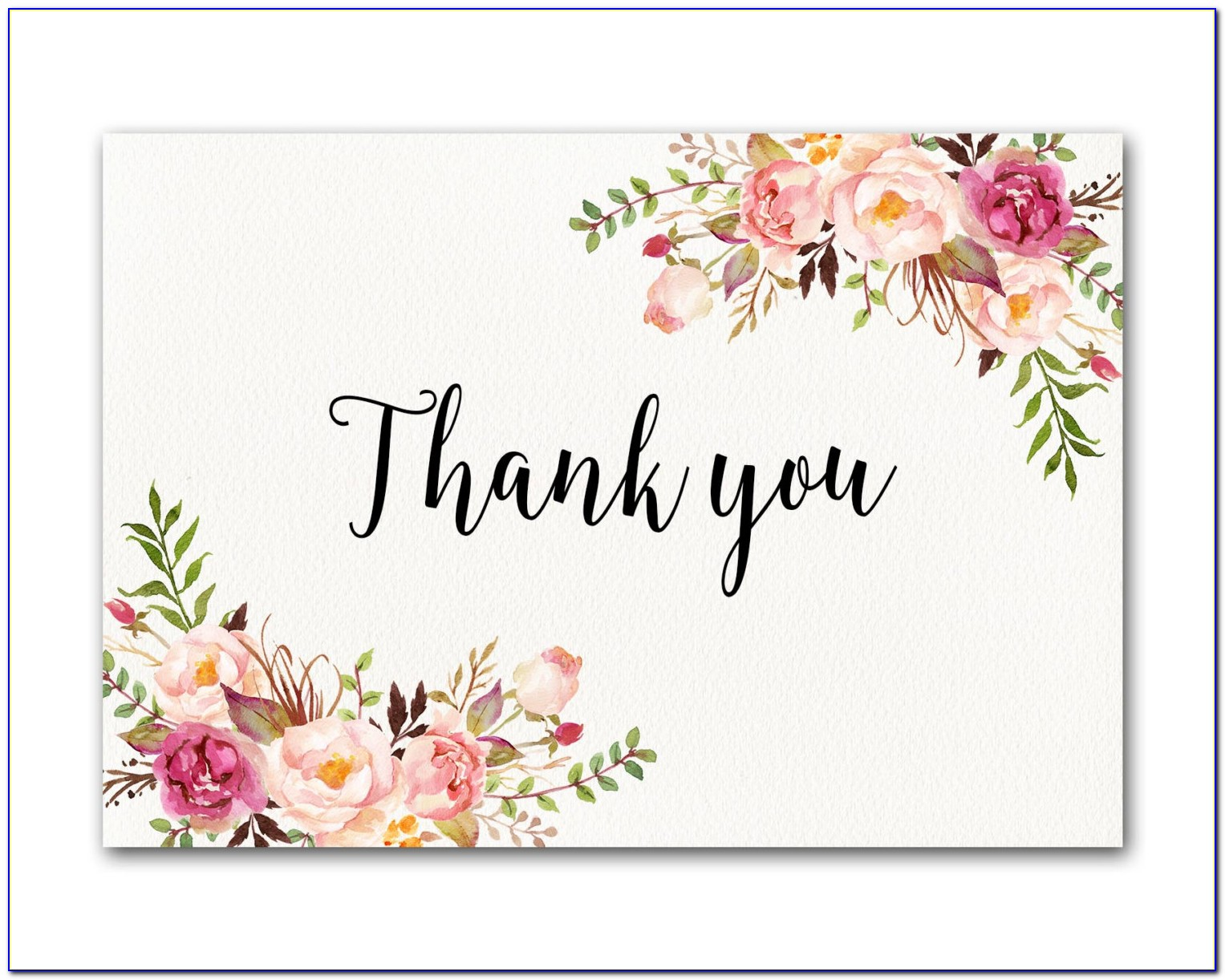 Inexpensive Wedding Thank You Cards