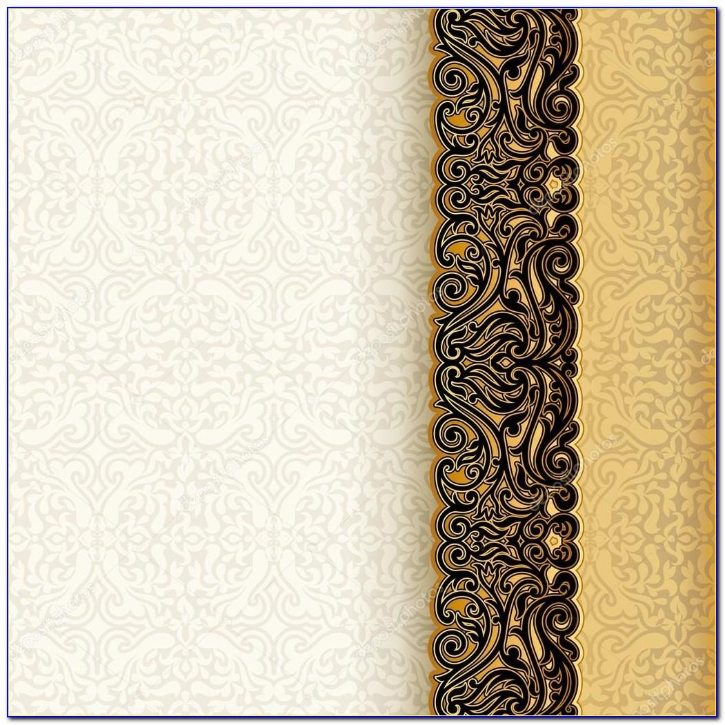 Invitation Card Background Design