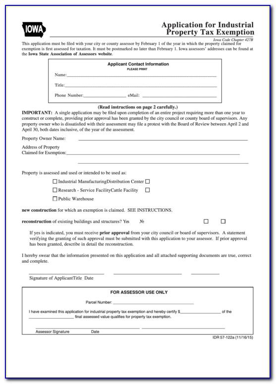 Iowa Sales Tax Exemption Certificate Pdf
