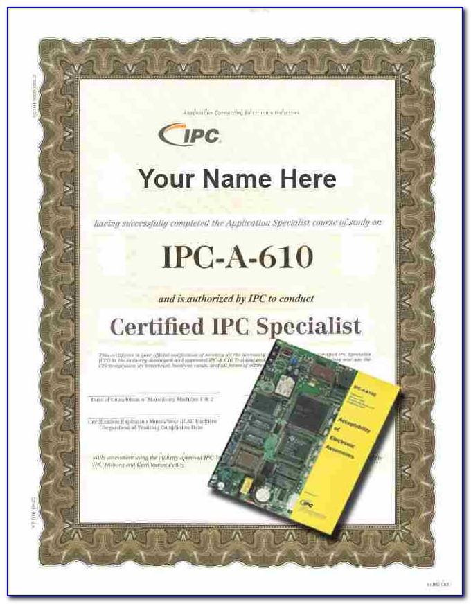 Ipc 610 Certification Training