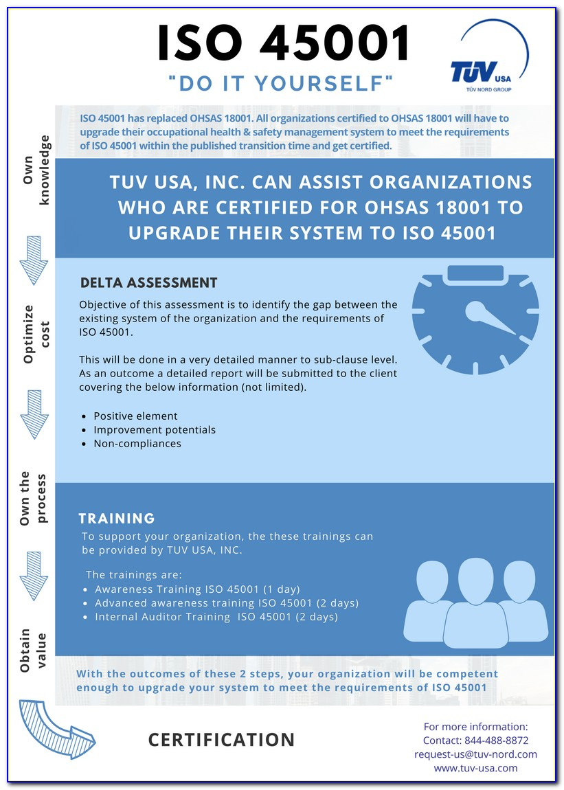 Iso 45001 Certification Requirements